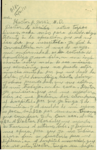 Letter from the Hector P. Garcia Archives
