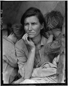 Dorothea Lange iconic photograph 1936