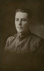 1918 photograph of Arthur Marschke