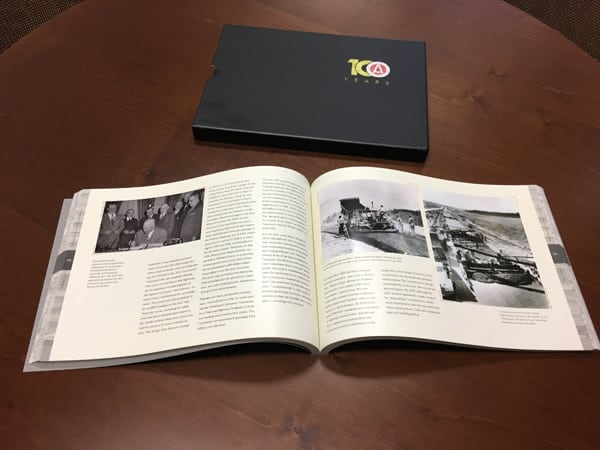 AGC commissioned research for its centennial book from History Associates in Rockville, Md.