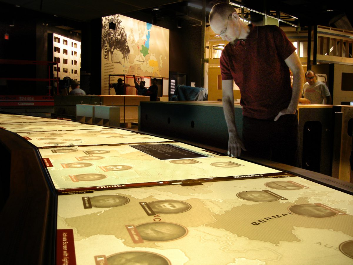 National WWI Museum Interactives