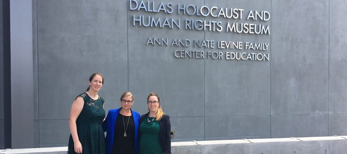 HAI historians on hand at the Dallas Holocaust and Human Rights Museum opening