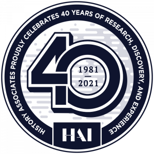 This Year, History Associates Celebrates 40 Years of Research, Discovery, and Experience