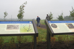 Our interpretive planners transform open landscapes like this battlefield into meaningful visitor experiences.